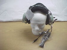 New David Clark H10-76 Military Headset with Volume Control  New Old Stock