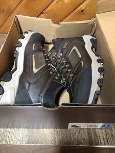 Skechers Men's Relaxed Fit Selmen-Regram Waterproof Boots Size 9.5 New