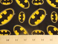 Batman black and yellow cotton fabric 18