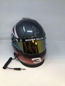 Autographed Full RCR- DOW 17FS Austin Dillon #3 Racing Helmet