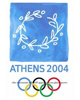 8x10 2004 Athens Olympic Games Poster PHOTO Art Print Olympics Ad Sign Greece