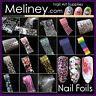 Patterned Nail Art Foils Transfer Holo Foil sticker Decoration Decal wrap