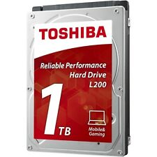 "Toshiba L200 Mobile 1tb SATA II 2.5"" 5400rpm Spin Speed Laptop Hard Drive"