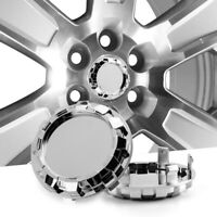 Set of 4 83mm/76mm Wheel Hub Center Caps for Silverado Tahoe 9596403 23480948
