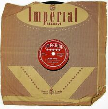 FATS DOMINO Rose Mary/You Said You Love Me 10IN 1953 R&B VG++ LISTEN!!!!!!