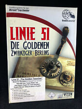 Add-on for Microsoft Train Simulator: Line 51 The Golden 20s (PC, 2006) NEW