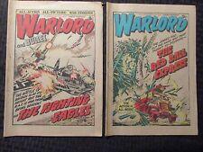 1979 WARLORD AND BULLET UK Fleetway Weekly NewspaperComic VG/VG+ #226 270