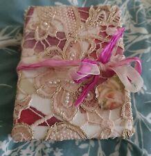 Beautiful handmade lace  Journal.