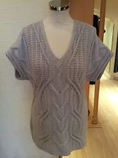 Olsen Sweater Size 10 BNWT Beige Cable Knit RRP £79 Now £32