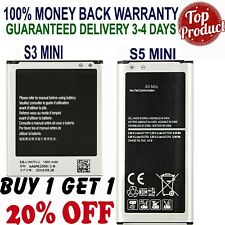 OEM Genuine Samsung Galaxy Battery Replacement for Galaxy S3 Mini S5 Mini