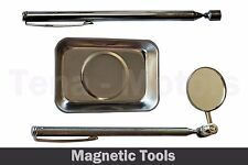3 pcs Magnetic Tool Set - Telescopic Mirror Pick-up Tool Magnetic Tray /97818