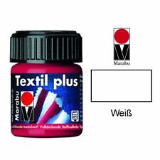 50 ML 070 MARABU Textil Plus Paint, White