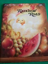 RAINBOW ROAD BY JEAN MYERS AND SHIRLEY WILSON 1986 TOLE PAINTING SUNSHINE BOOK