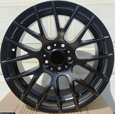 "4 New 18"" Black Wheels Rims for BMW 3 Series 320 328 330 335 340 E90 CSL -5649"