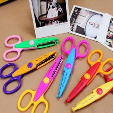 6X Kinderschere Kinder-Lernschere verschiedene Schnittmuster Bastelschere DIY