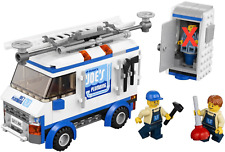 LEGO Movie Truck & Plumber Minifigures Only from The Flying Flusher (70811)