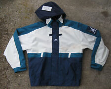 Vintage 90s Helly Hansen Heavy Raincoat Sailing Jacket (Small) Waterproof