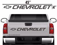 Chevrolet Tailgate Vinyl Decal Sticker Ebay