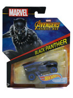 Hot Wheels Black Panther Infinity War 1/64 Scale Character Car Marvel Comics New