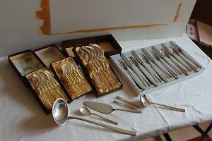 Besteck BSF Nordlicht 90er Silber 6 Personen 30 teilig plus 5 Teile