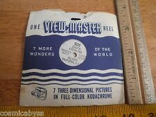 Santa Catalina Sawyers Viewmaster reel 201 VINTAGE Avalon