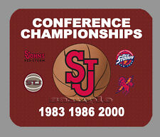 Item#1942 St Johns Basketball Championship Banner Mouse Pad