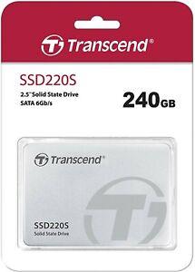 """Transcend SSD220S 240 Go SATA III 2,5"""" SSD Interne"""