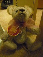 Charlie Bears (Isabelle Lee) MO Souris Porte-Clés/Sac Buddy 13 cm = retraité