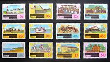 Nieves 1981 DEFINITIVES 12 valores a $10 como se muestra U/M FP7676