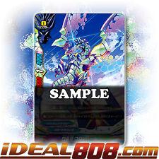 Buddyfight x 4 White Crystal Dragon, Colombal [X-BT01/0109EN C] English Mint Fut