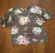 Rock & Rags By Firetrap Ladies Top Blouse Size S Floral