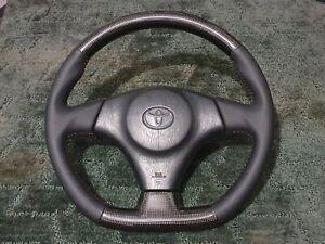 Jza80 Carbon Fibre S2 D Steering Wheel TRD SZ SZR RZS jzx100 MR2 2jz Levin 1jz