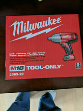 "New Milwaukee M18 1/2"" high torque impact driver Tool Only"