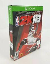 Xbox 1, NBA 2K18: Legend Edition. (Xbox One X Enhanced) 4K HDR New Video Game