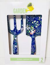 Garden Party 2 Piece Floral Tools Kit Home/Garden Tool Sets Equipment Blue NEW