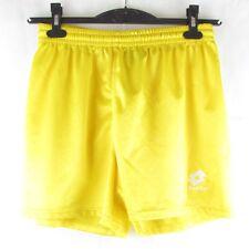MENS VTg trousers LOTTO Loose L SOCCER football shorts YELLOW CALCIO ITALY PANTS