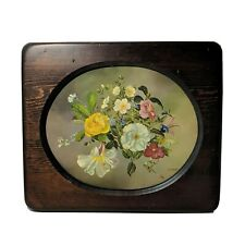 Vintage Floral Print Replica of John Lancaster Oil Painting Wall Decor