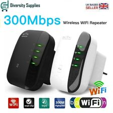 WiFi Range Extender Amplifier Super Booster 300Mbps  Speed Wireless Repeater