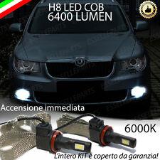 KIT FULL LED SKODA SUPERB II LAMPADE H8 FENDINEBBIA CANBUS 6400L 6000K