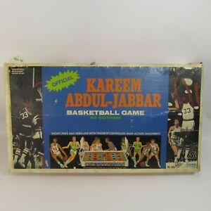 Kareem Abdul-Jabbar Vintage Basketball Game 1970's Pressed Steel Action Complete