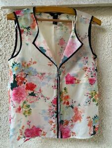 H&M Floral Top Size EUR 36