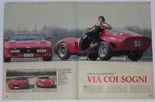 Article Articolo 1985 FERRARI 250 GTO / 288 GTO