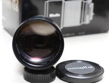 Minolta MD Tele Rokkor-X 200mm f/2.8 manual focus telephoto lens