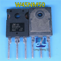 10PCS MOSFET Transistor ST TO-247 STW45NM50 W45NM50 new
