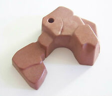 PLAYMOBIL (I117) DECOR - Rocher Marron Brun Demi Cercle