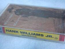 Hank Williams Jr. : Maverick - 1992 Cassette tape