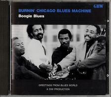 BURNIN' CHICAGO BLUES MACHINE boogie blues CD JAPAN GBW-003