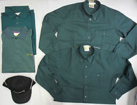 Boys Girls Scout Scouts Green Polo Shirt Blouse Cap Poncho Trousers Belt Buckle