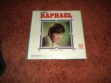 RAPHAEL Canta USA press RARE 60s SPANISH HISPA UA Latino  LP -  EX/ EX