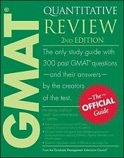 The Official Guide for GMAT Quantitative Review by Graduate Management Admission